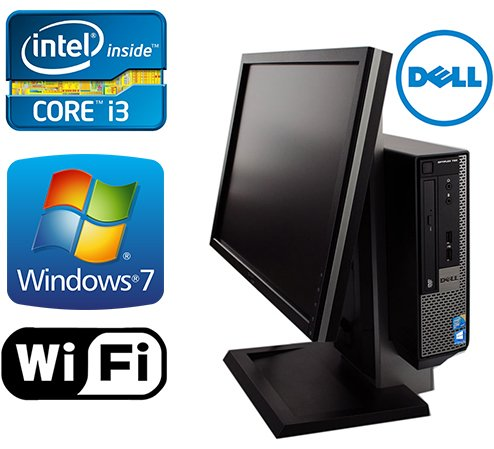 DELL Optiplex 790 USFF All in One Desktop Computer- New 1TB HDD- Intel i3 3.1Ghz- 8GB of Memory- Windows 7 Pro- With 19'' Monitor (Certified Refurbished) by Dell (Image #5)