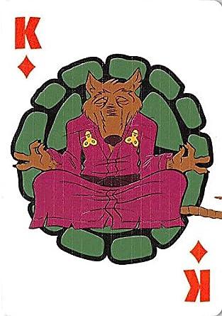 Splinter trading playing card Teenage Mutant Ninja Turtles ...