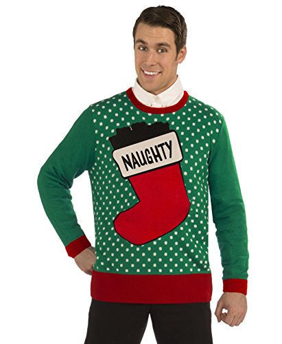 Forum Novelties Plus Size Naughty Stocking Novelty Christmas