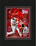 """Albert Pujols Los Angeles Angels 8"""" x 10"""" 600 Home Runs Matted Photo - Fanatics Authentic Certified - MLB Player Plaques and Collages"""