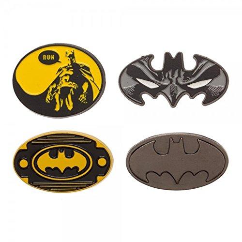 Batman Lapel Enamel Metal Mini Pin Badge Set (Batman) (Batman Pin Enamel)