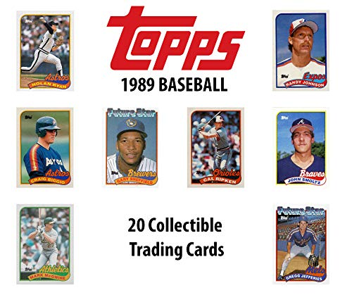 1989 Topps Baseball MLB Collectible Trading Cards Pack for sale  Delivered anywhere in USA