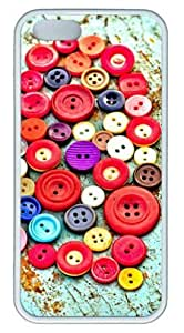 phone covers All Kinds of Buttons DIY Rubber White iPhone 5c Case Perfect By Custom Service