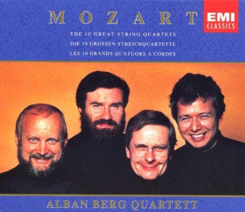 - Mozart: The 10 Great String Quartets ~ Alban Berg Quartett