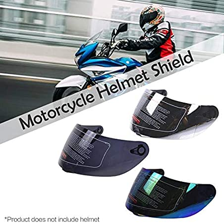 elegantstunning Universal Anti-Scratch Lens for AGV K3 SV K5 Motorcycle Replacement Face Shield