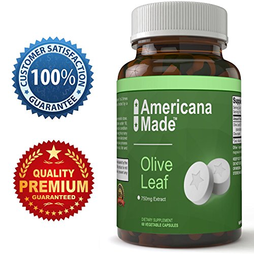 Pure Olive Leaf Extract Super Strength 20% Oleuropein – Super Antioxidant Supplement for Women and Men – Natural Anti-Aging Complex – Benefits Immune System & Increase Energy – 750 mg Review