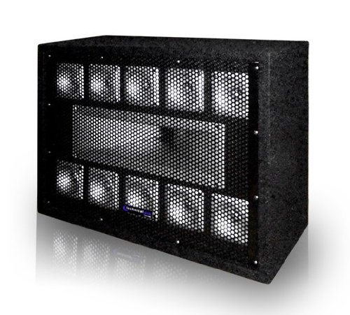 Technical Pro TW110 - Professional Carpeted 11-Way Tweeter Box ()