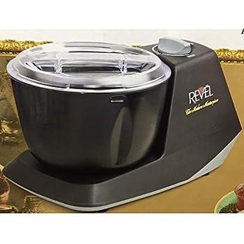 Revel CDM301 Atta Dough Mixer Maker Non Stick Bowl, 3 L, Black