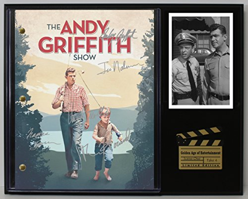 "ANDY GRIFFITH LTD EDITION REPRODUCTION SIGNED TELEVISION SCRIPT DISPLAY""C3"""