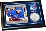 Rick Nash 4x6 Player Plaque w/ Game Used Uniform
