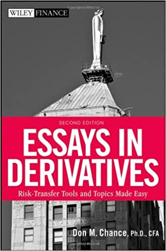 Don chance essays in derivatives for dummies