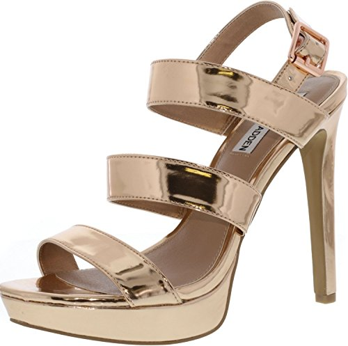 Steve Fabric Rose Crush Women's Gold Madden Pump RfqrzRw