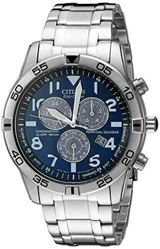 Citizen Men's BL5470-57L Stainless Steel Eco-Drive Watch (Citizen Dual Time Watch)
