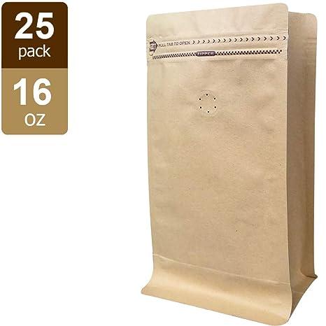 Amazon.com: Kraft - Bolsas de café con válvula (50 piezas ...