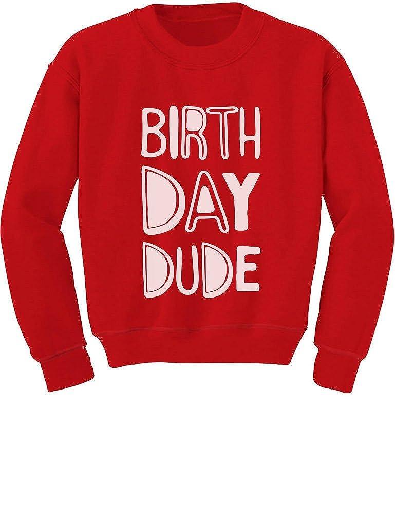 Gift for Birthday Boy B-Day Party Toddler//Kids Sweatshirt Birthday Dude