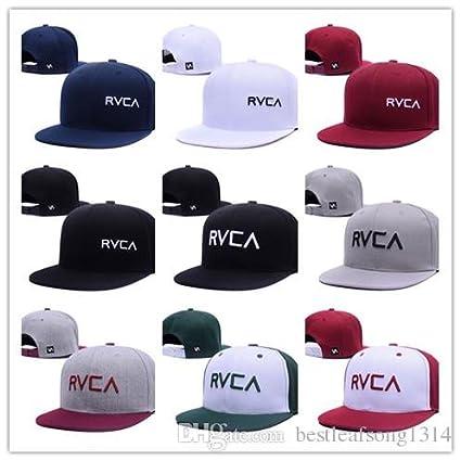 1 pieza de marca al mayoreo gorras snapback Snapback RVCA Gorras gorra  plana hip hop hat b93283a8692