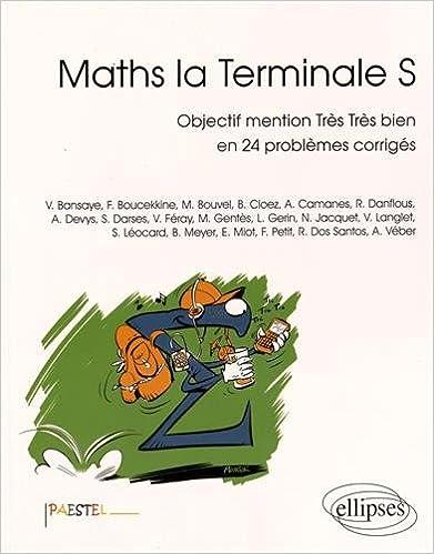 Ebooks Gratuits Anglais Maths La Terminale S Objectif