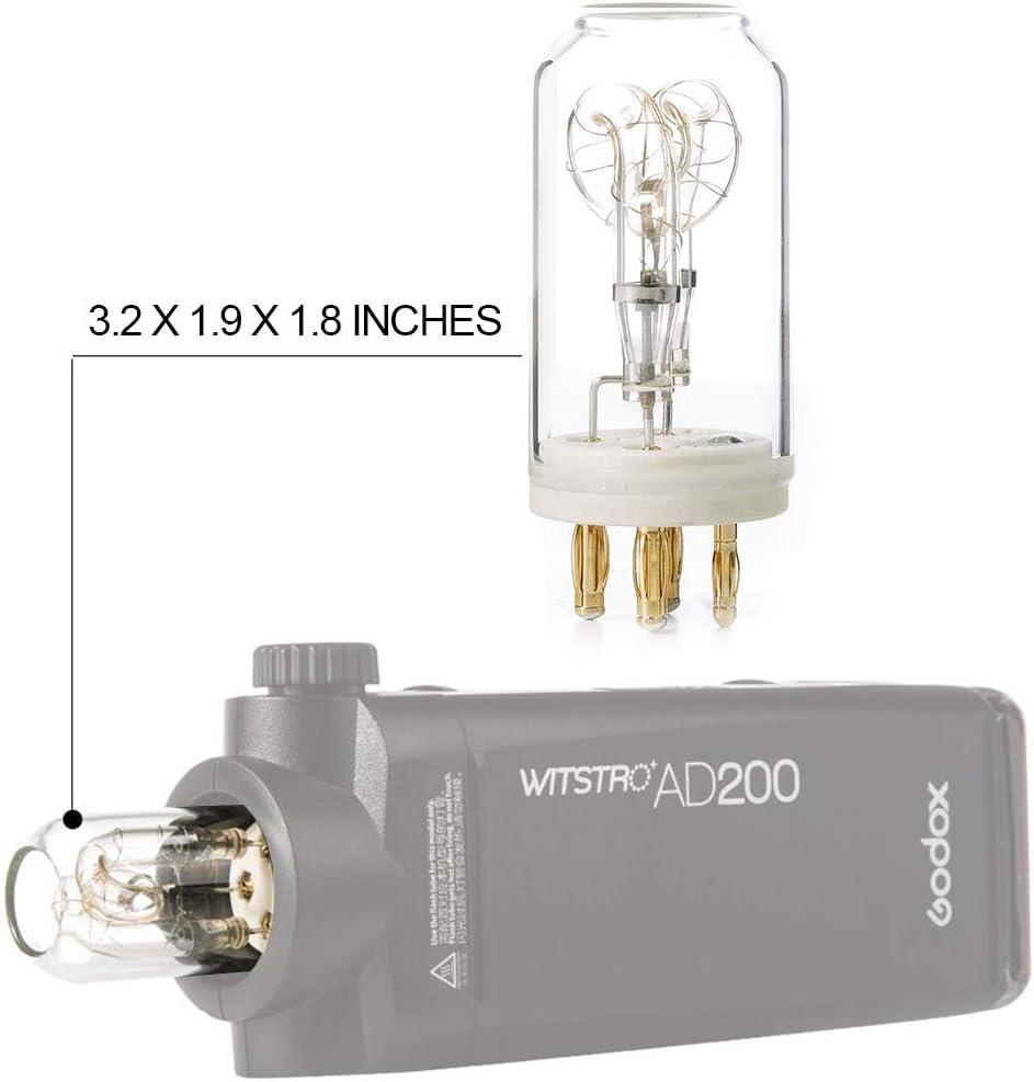 GODOX AD-FT200 Flash Tube Bare Bulb 200W for Godox H200J Flash Head on AD200 Pocket Flash AD-FT200