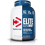Dymatize Elite 100% Whey Protein Powder, Rich Chocolate, 5 lbs