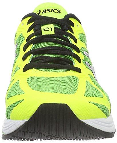 Asics Gel-ds Trainer 21 Nc, Zapatillas de Entrenamiento para Hombre Amarillo (green Gecko/black/safety Yellow)