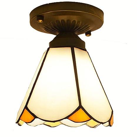 Tama o peque Corridor Europea lámpara de techo Tiffany ...