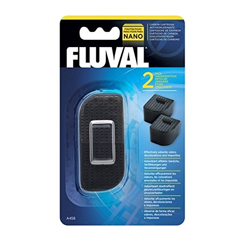 Fluval Nano Carbon Cartridge - 2 Pieces