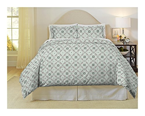 picture of Pointehaven Heavy Weight Flannel Duvet Set, Twin/Twin X-Large, Ankara