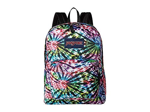 JanSport Unisex Superbreak Tie-Dye Swirls One Size