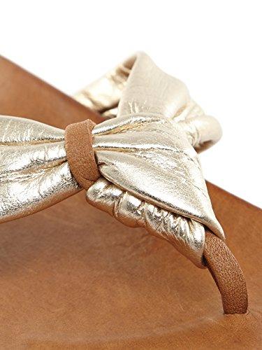 Mules Or à Tongs greifer Sandales chaussons Femme orteils Inuovo D'été Xx6nwfAqan