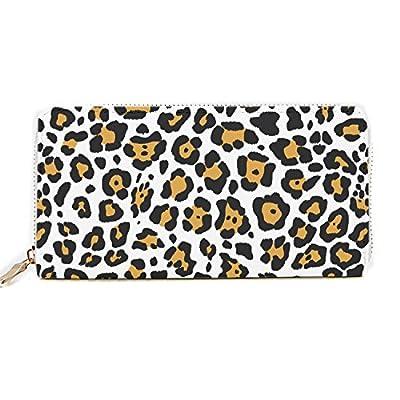 Women's Wallet New Designer Cross Pattern Printing Long Purse Handbag Clutch Ladys Card Holder