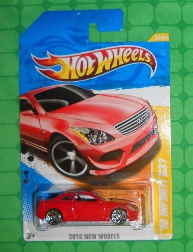 Hot Wheels 2010-032 New Models Infiniti G37 RED 1:64 Scale