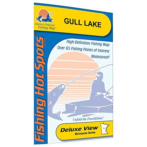 (Gull Lake (Crow Wing/Cass Co. Fishing Map, MN) Fishing Map)