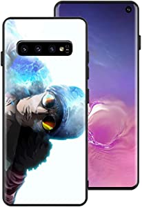 "J-Top Phone Case for Galaxy S10, Manga Animation One Piece Design Tempered Glass Ultra-Thin Anti-Scratch Phone Case OP287 for Galaxy S10 (6.1"")"