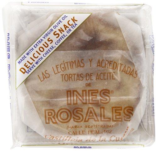 Ines Rosales Sweet Olive Oil Tortas, Cinnamon, 6.34 Ounce ()