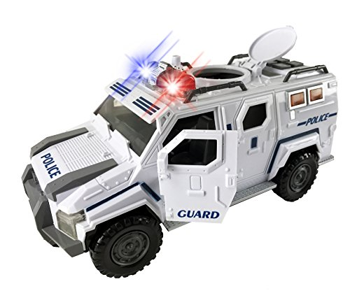 Police Armored Vehicle Lights Sounds