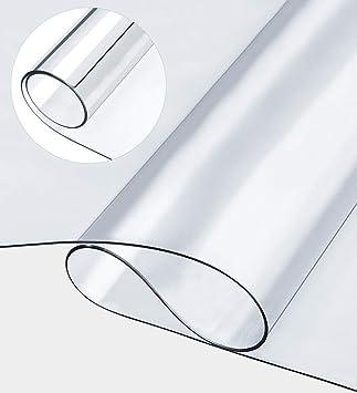 Mantel grande de PVC, transparente, multifuncional, resistente al ...