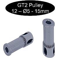 2 poleas GT2 con 15 mm de ancho