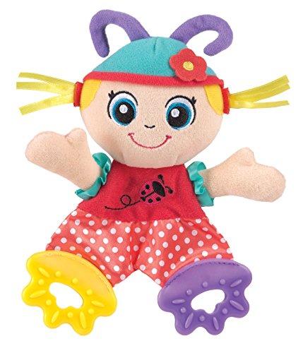 Playgro 0183154 Lulu Ladybird Teething Blankie for Baby