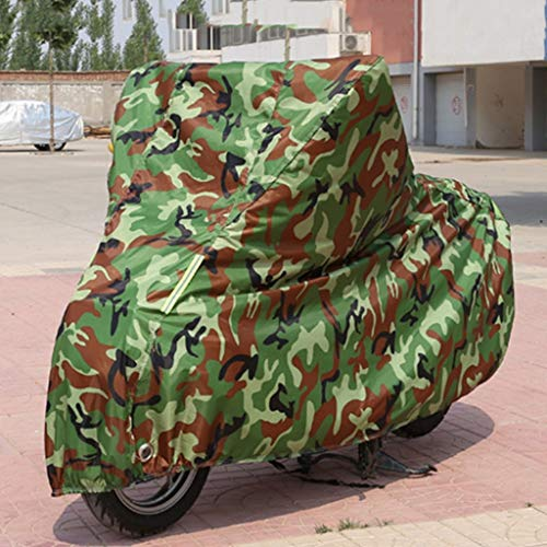 YYF Large motorcycle cover sun protection rain cover snowproof dustproof thickening car cover cover Color : Gray-XXL