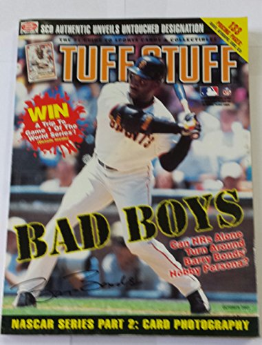 2001 Barry Bonds - Tuff Stuff October 2001 Barry Bonds Sports Cards and Collectibles