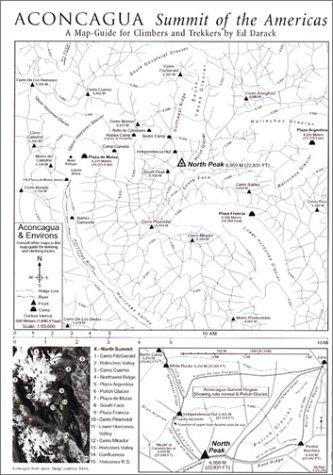 Aconcagua, Map-Guide -