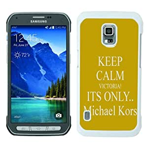 Great Quality M-K Samsung Galaxy S5 Active Case ,Newest M-K 50 White Samsung Galaxy S5 Active Cover Case Unique And Beautiful Designed Phone Case
