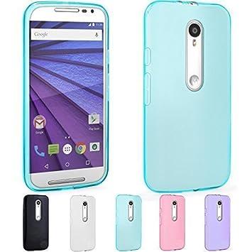 ELTD Motorola Moto G 3 (3ª Generación) Funda, High quality smooth silicone Series back funda carcasa case para Motorola Moto G 3 (3ª Generación) , ...