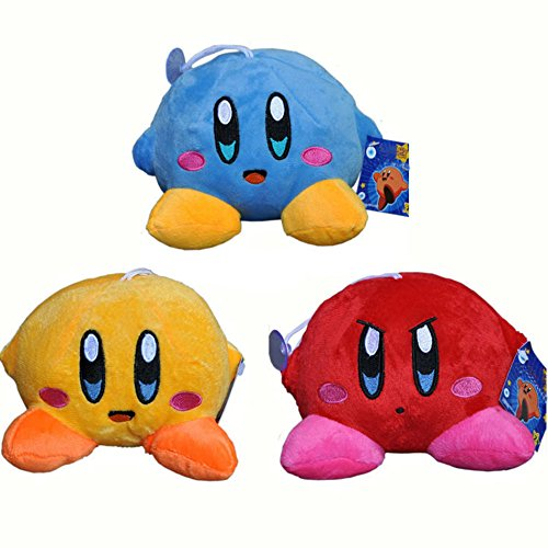 3 pcs/Lot Colorful Plush Toy Stuffed Dolls Kids Gift for Birthday or Christmas