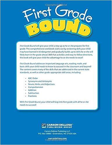 First Grade Bound: Thinking Kids, Carson-Dellosa Publishing ...