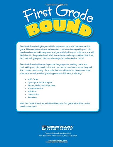 First Grade Bound: Thinking Kids, Carson-Dellosa Publishing ...