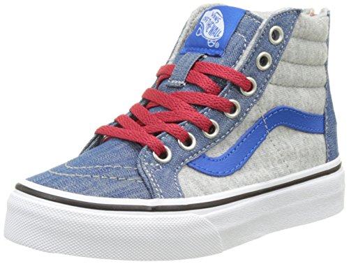 Vans Sk8-Hi Zip Sneakers Jersey&Denim Boys 11.5 ()