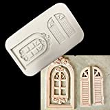 Star-Trade-Inc - Window Door Shape Silicone Cake Mold,Kitchen Baking Mould For Soap Chocolate Pastry Candy,Fondant Decorating Tools Accessories