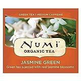 Numi Organic Tea Jasmine Green, 100 Count Box of Tea Bags (Packaging May Vary)