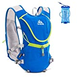 Azarxis Hydration Pack Backpack 8L Running Race Hydration Vest Marathon Trail Pack Backpack